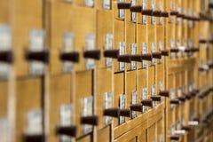 Библиотека архива стоковые фотографии rf