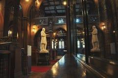 Библиотека Джона Rylands в Манчестере Стоковая Фотография