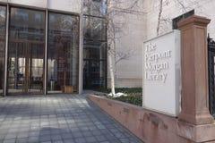 Библиотека & музей Моргана стоковое изображение rf