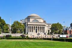 Библиотека на кампусе Колумбийского университета Нью-Йорке Стоковые Фото