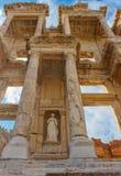 Библиотека Celsus древнего города Ephesus Стоковое Фото