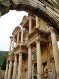 Библиотека Celsus (Efes, Турции) Стоковые Фото