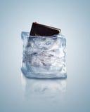 Библия в льде Стоковое Фото