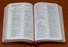 Библия книга Nahum Стоковое Изображение RF