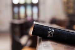 Библия на церков Стоковые Фотографии RF