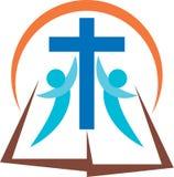 Библия Христоса иллюстрация вектора