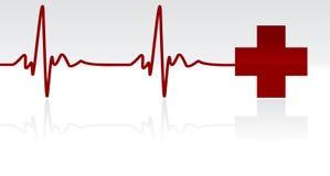 биение сердца Стоковое фото RF