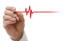 Биение сердца Стоковая Фотография RF