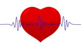 Биение сердца Стоковое Изображение