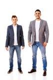 2 бизнесмена детенышей улыбки Стоковые Фото