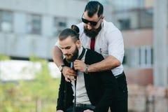2 бизнесмена подготовленного работать Стоковое Фото