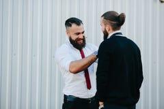 2 бизнесмена подготовленного работать Стоковое Изображение RF