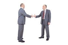 Бизнесмены трястия руки Стоковая Фотография RF