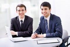2 бизнесмена Стоковая Фотография