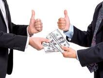 2 бизнесмена Стоковое Фото