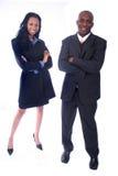 бизнесмены афроамериканца Стоковые Фото