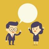 бизнесмены беседы Стоковое Изображение RF