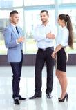 Бизнесмены встречая в офисе Стоковая Фотография RF