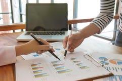 Бизнесмены встречая worki профессионального инвестора идей дизайна стоковое фото
