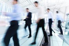 Бизнесмены в движении Стоковое Изображение