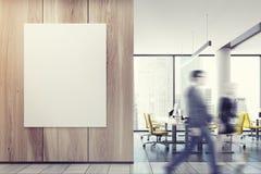 Бизнесмены в желтом конференц-зале стула Стоковые Изображения