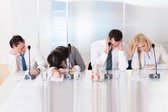 Бизнесмены в конференции Стоковые Фото