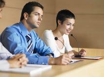 Бизнесмены в конференц-зале Стоковое фото RF