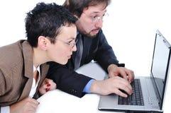 Бизнесмены в офисе Стоковые Фото