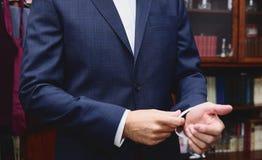 Бизнесмены в элегантном костюме стоковое изображение