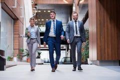 Бизнесмены группы Стоковая Фотография