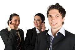 Бизнесмены группы Стоковые Изображения RF