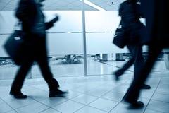 бизнесмены гулять Стоковое фото RF