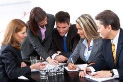 бизнесмены команды Стоковое Изображение RF