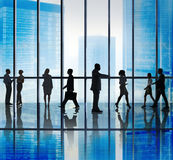 Бизнесмены концепции корпоративного офиса Стоковое фото RF