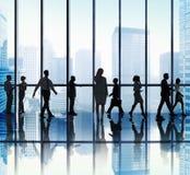 Бизнесмены концепции корпоративного офиса Стоковые Изображения RF