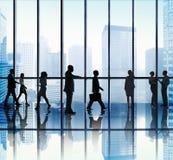 Бизнесмены концепции корпоративного офиса Стоковая Фотография