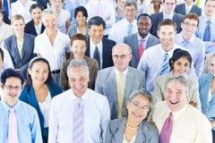 Бизнесмены концепции общины команды разнообразия корпоративной стоковые фото