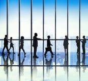 Бизнесмены концепций корпоративного офиса Стоковое Изображение RF