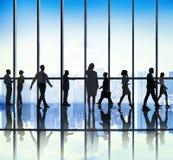 Бизнесмены концепций корпоративного офиса Стоковая Фотография RF