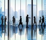 Бизнесмены концепций корпоративного офиса Стоковые Фотографии RF