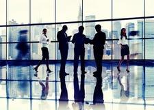 Бизнесмены коллег связи корпоративных профессиональных Стоковое Изображение