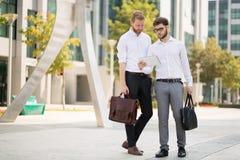 Бизнесмены на движении Стоковая Фотография RF