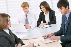 Бизнесмены на офисе Стоковое Фото