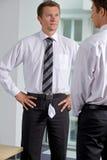 Бизнесмены на офисе Стоковые Фотографии RF