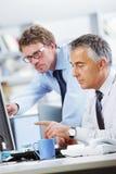 Бизнесмены на работе Стоковое Изображение RF