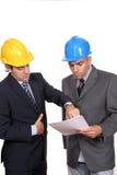 бизнесмены обсуждая проект встречи новый Стоковые Изображения