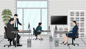 Бизнесмены офиса Стоковое фото RF