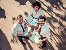 бизнесмены работы Стоковое Фото