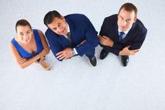 Бизнесмены стоя совместно - topview Стоковые Изображения RF