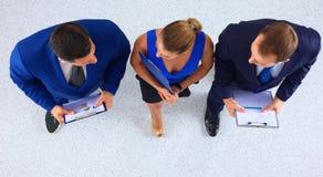 Бизнесмены стоя совместно - topview Стоковая Фотография